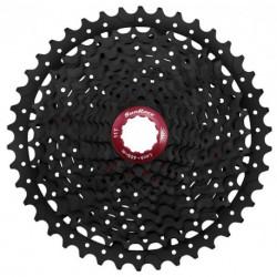 Sunrace CSMX8 11AY 11 sebességes fogaskeréksor [fekete-piros, 11-42]