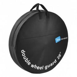 """Kerék szállító táska 28 dupla, 2 kerékhez, fekete,69cm"""""""