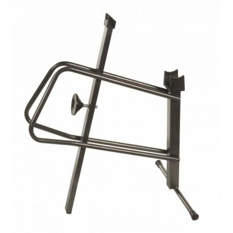 Kerékpár bemutató állvány, középcsapágy-első kerék
