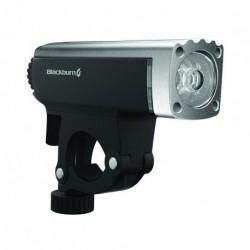 Lámpa első CENTRAL SMART, ezüst/fekete, fényérzékelős USB