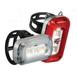 Lámpa készlet CENTRAL 100 / 20, első+hátsó
