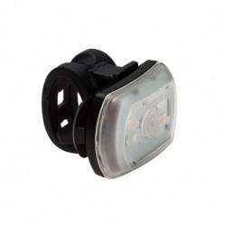 Lámpa kétfunkciós 2'FER USB, első vagy hátsó, fekete,18g