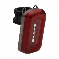 Villogó hátsó CENTRAL 50 USB, 5 SMD LED,50lm,50gr