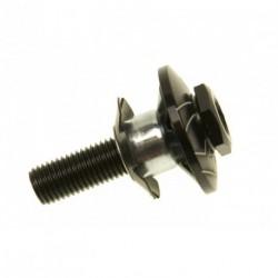 """Kormánycsapágy fekete acél/alu, 1 1/8 (BMX)"""""""