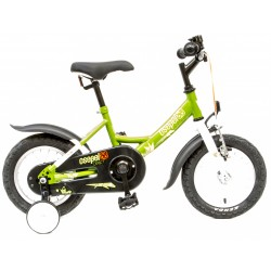 """Csepel Drift  kerékpár (zöld)  12"""""""