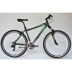 """Montana Alu férfi Cross kerékpár 21SP Fekete-Zöld 19"""""""