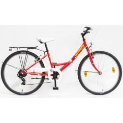 """Csepel Flora gyerek kerékpár 24"""" 6SP"""