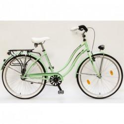 Csepel Cruiser NEO női városi kerékpár (zöld)  26/18