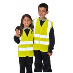 Portwest JN14 Gyerek láthatósági mellény [S, sárga]