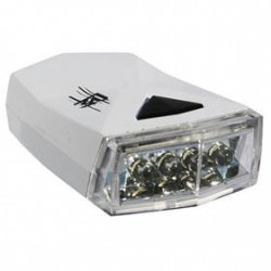 Rock Machine Belize elemes első lámpa [fehér]